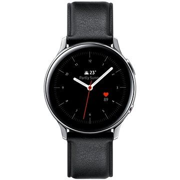 XXL obrazek Samsung Galaxy Watch Active 2 40mm LTE (Stainless Steel) stříbrné