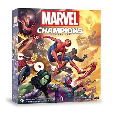 Fantasy Flight Marvel Champions LCG - základní hra cena od 1279 Kč