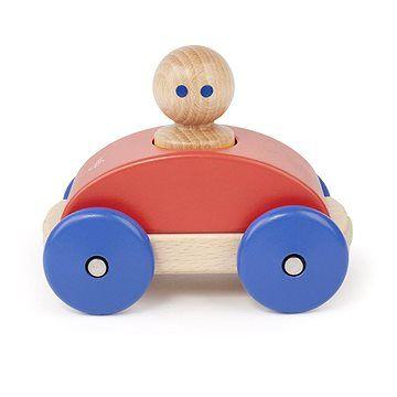 Magnetické autíčko TEGU - Poppy Blue Racer