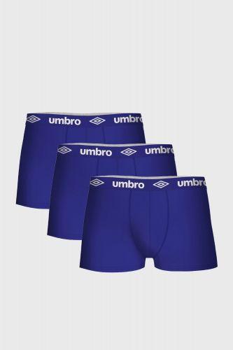 Umbro 3 PACK modrých bavlněných boxerek Umbro modrá L cena od 399 Kč