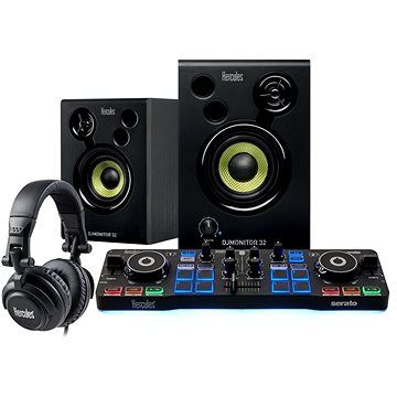 HERCULES DJ Starter Kit se Serato DJ Lite