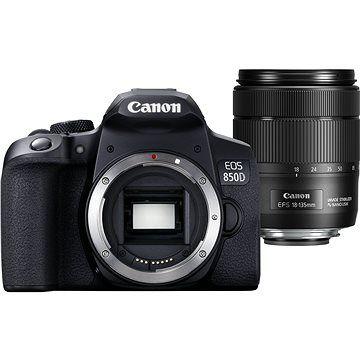 Canon EOS 850D černý + 18-135mm IS STM