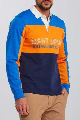Gant Polokošile Gant D1. Gant Sport Heavy Rugger 2025033-620-Ga-466-S Modrá S cena od 4599 Kč
