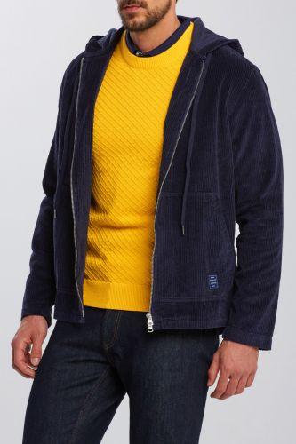 Gant Košile Gant D1. Corduroy Hood Shirt 3017724-620-Ga-433-M Modrá M