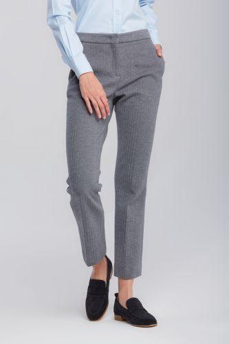 Gant Kalhoty Gant D1. Herringbone Jersey Pant 4150143-620-Gw-93-34 Šedá 34