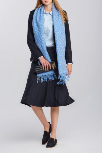 Gant Sukně Gant D1. Flannel Flare Skirt 4400043-620-Gw-433-34 Modrá 34