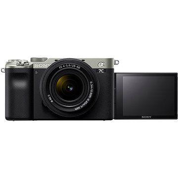 Sony Alpha A7C stříbrný + FE 28-60mm