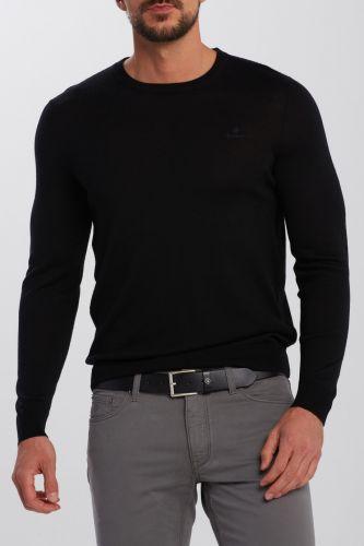 Gant Svetr Gant Washable Merino C-Neck 8050052-620-Ga-5-4Xl Černá 4Xl cena od 4999 Kč
