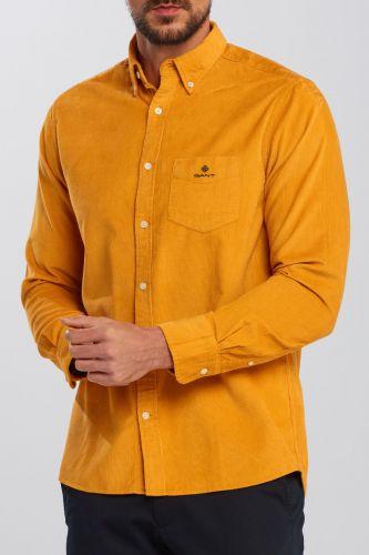 Gant Košile Gant D2. Corduroy Reg Bd 3016820-620-Ga-710-M Žlutá M