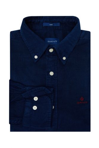 Gant Košile Gant D2. Corduroy Slim Bd 3016822-620-Ga-410-S Modrá S