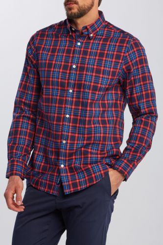 Gant Košile Gant D2. Tp Oxford Micro Tartan Reg Bd 3029530-620-Ga-620-S Červená S