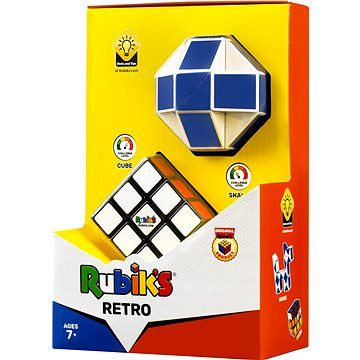 TM Toys Rubikova kostka sada retro (snake + 3x3x3)