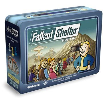 Fantasy Flight Games Fallout Shelter: desková hra