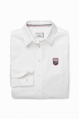Gant Košile Gant Lm. Tech Prep Oxford Shirt 432753-417-Gw-110-36 Bílá 36 cena od 1799 Kč