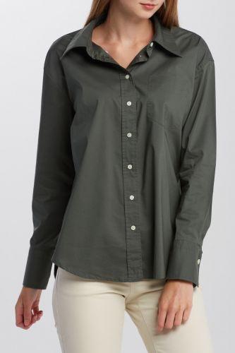Gant Košile Gant D1. Tp Broadcloth Relaxed Shirt 4311150-620-Gw-366-34 Zelená 34 cena od 2939 Kč