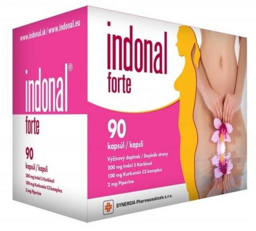 Synergia Pharmaceuticals, s.r.o Indonal Forte 90 kapslí