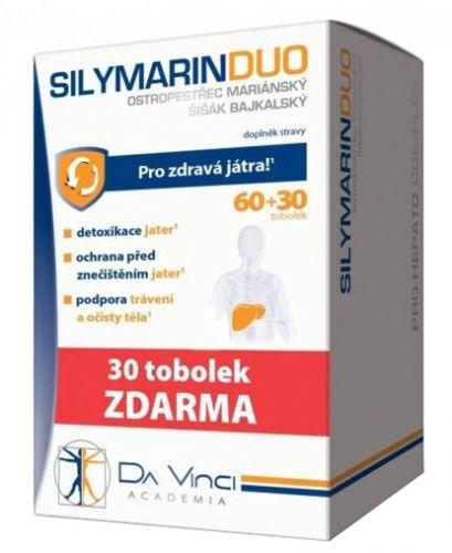 Simply You Pharmaceuticals SILYMARIN DUO DaVinci 60+30 tobolek ZDARMA