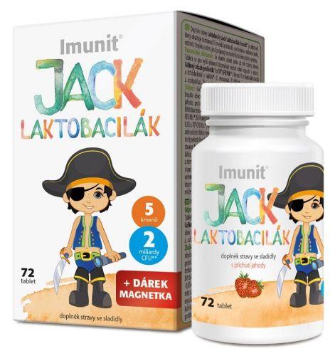 Simply You Pharmaceuticals Imunit Laktobacily JACK LAKTOBACILÁK 72 tablet cena od 218 Kč