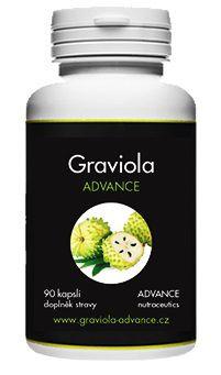 ADVANCE NUTRACEUTICS ADVANCE Graviola 90 kapslí