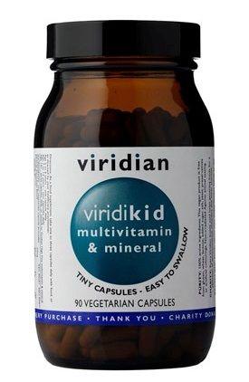 ForActiv.cz, s.r.o. Viridian Viridikid Multivitamin 90 kapslí