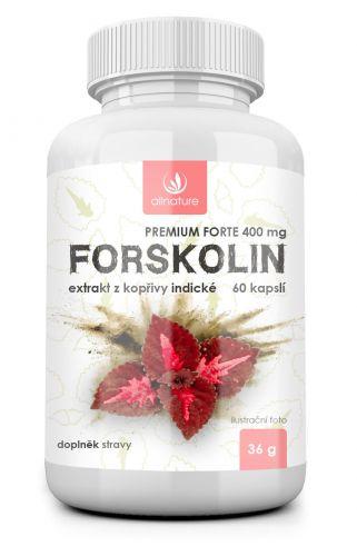 Allnature, s.r.o. Allnature Forskolin Premium forte 400mg 60 kapslí