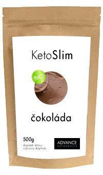 ADVANCE NUTRACEUTICS ADVANCE KetoSlim příchuť čokoláda 500g