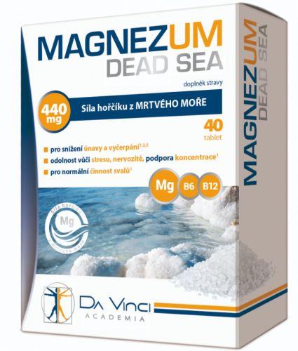 Simply You Pharmaceuticals Da Vinci Academia Magnezum Dead Sea 40 tablet