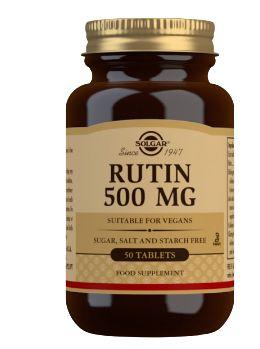 VITAMINS COSMETICS Solgar Rutin 500 mg 50cps