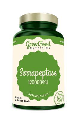 GreenFood Nutrition s.r.o. GreenFood Nutrition Serrapeptase 120000IU 60kapslí