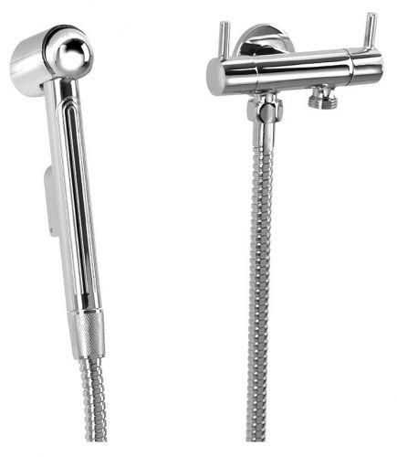 SAPHO Bidetová sprška s dvojventilem pro napojení vody na WC nádržku 1209-04