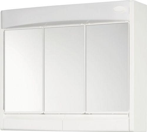 AQUALINE SAPHIR galerka 60x51x18cm, zářivka T8,1x15W, G13, bílá plast 591322