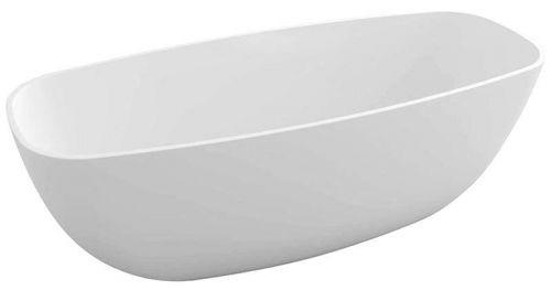 POLYSAN IPANEMA volně stojící vana litý mramor 168x72x49cm, bílá 69911