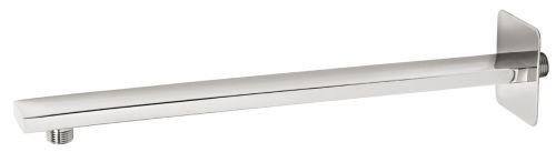 NOVASERVIS Rameno pevné sprchy hranaté ze stěny 400 mm chrom RAM405,0