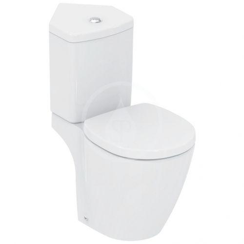IDEAL STANDARD Connect Space WC kombi mísa do rohu, zadní odpad, bílá E118501