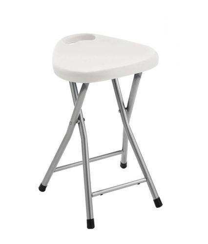 Aqualine Koupelnová stolička 30 x 46,5 x 29,3 cm bílá