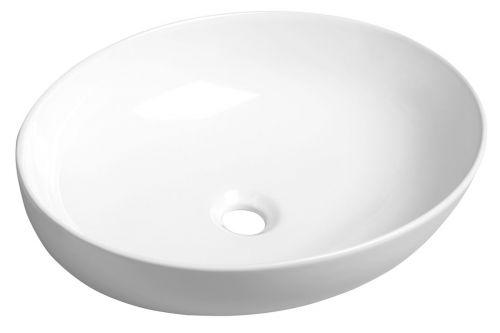 SAPHO OFELIE keramické umyvadlo 52x13x40 cm, na desku AR433