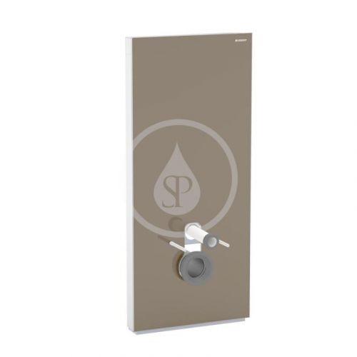 GEBERIT Monolith Plus Sanitární modul pro závěsné WC, 114 cm, spodní přívod vody, hnědá 131.231.SQ.5