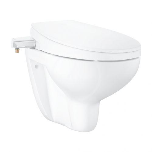 GROHE Bau Ceramic Manuální bidetové sedátko s keramikou, softclose, alpská bílá 39651SH0