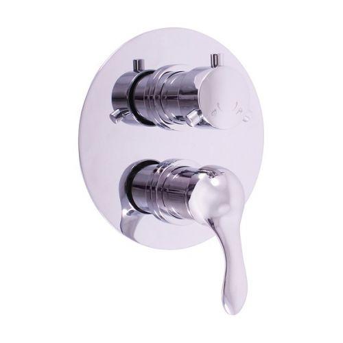 SLEZAK-RAV Vodovodní baterie sprchová vestavěná s přepínačem LABE, Barva: chrom L086K