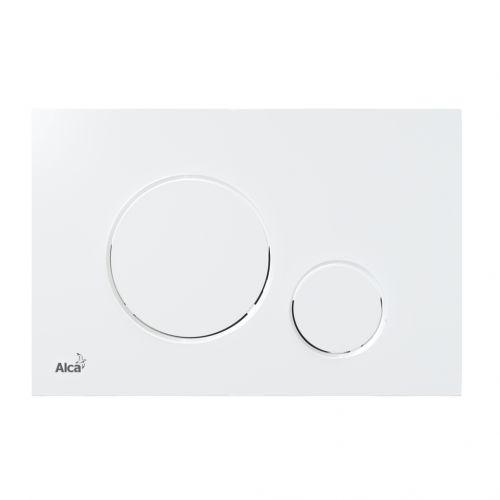 Alcaplast THIN Ovládací tlačítko pro předstěnové y, bílá M670
