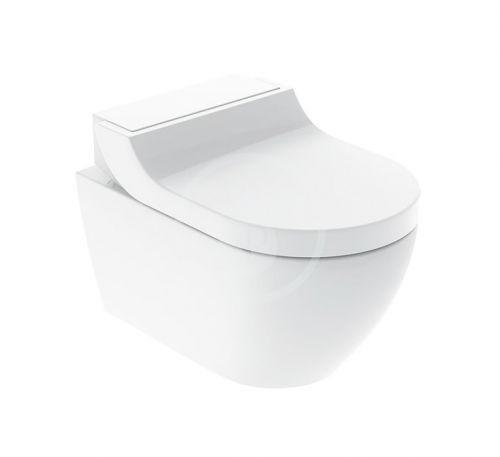GEBERIT AquaClean Elektronický bidet Tuma Classic s keramikou, Rimfree, SoftClosing, alpská bílá 146.092.11.1