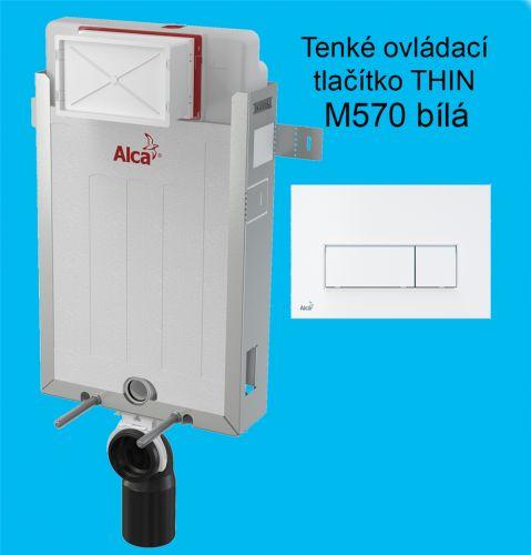 Alcaplast Set modul 2v1 Alcaplast AM115/1000 a tlačítko M570, Renovmodul AM115M570