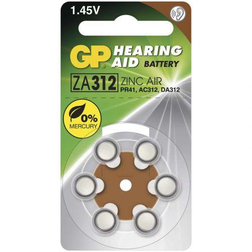GP BATERIE Baterie do naslouchadel GP ZA312 - 6ks