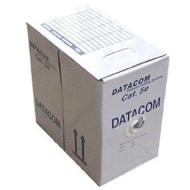 DATACOM FTP Cat5e PVC kabel 100m (lanko) šedý