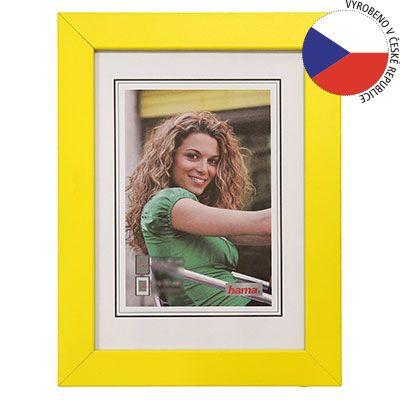 Hama rámeček dřevěný JESOLO, žlutá, 29,7x42 cm