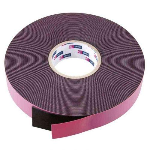 Emos páska izolační 19mm / 10m, samovulkanizační, černá
