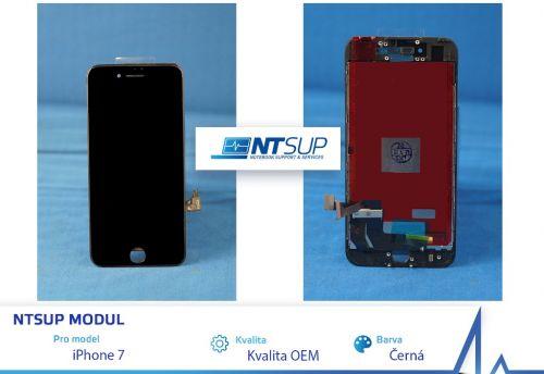 NTSUP LCD modul iPhone 7 černý kvalita B