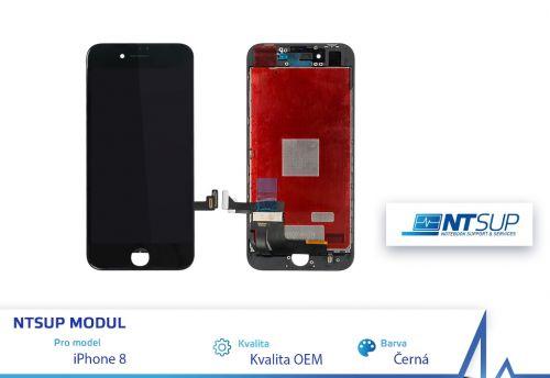 NTSUP LCD modul iPhone 8 černý kvalita B