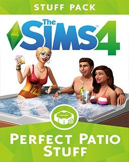 ESD GAMES ESD The Sims 4 Perfektní Patio