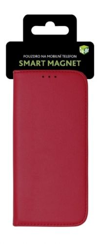 NONAME Cu-Be Pouzdro s magnetem Huawei P30 Lite Red